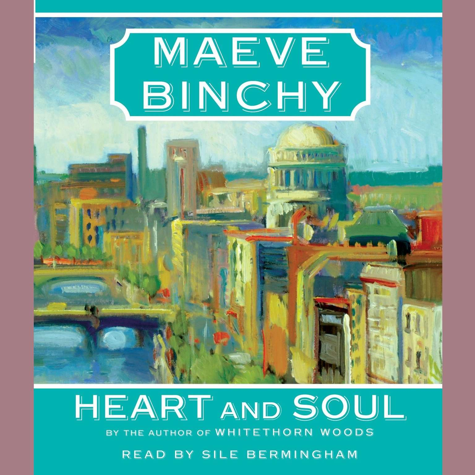 Printable Heart and Soul Audiobook Cover Art