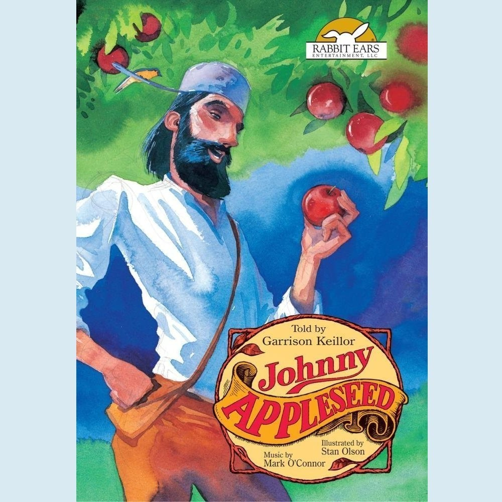 Printable Johnny Appleseed Audiobook Cover Art