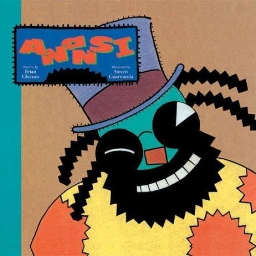 Printable Anansi Audiobook Cover Art