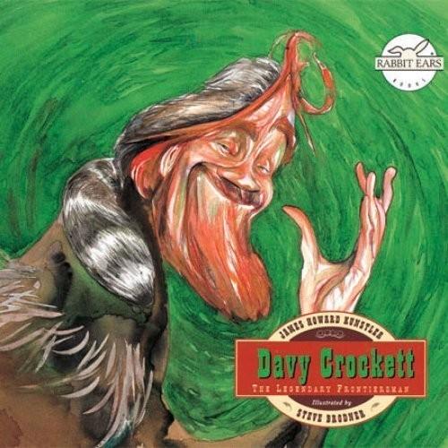 Printable Davy Crockett Audiobook Cover Art