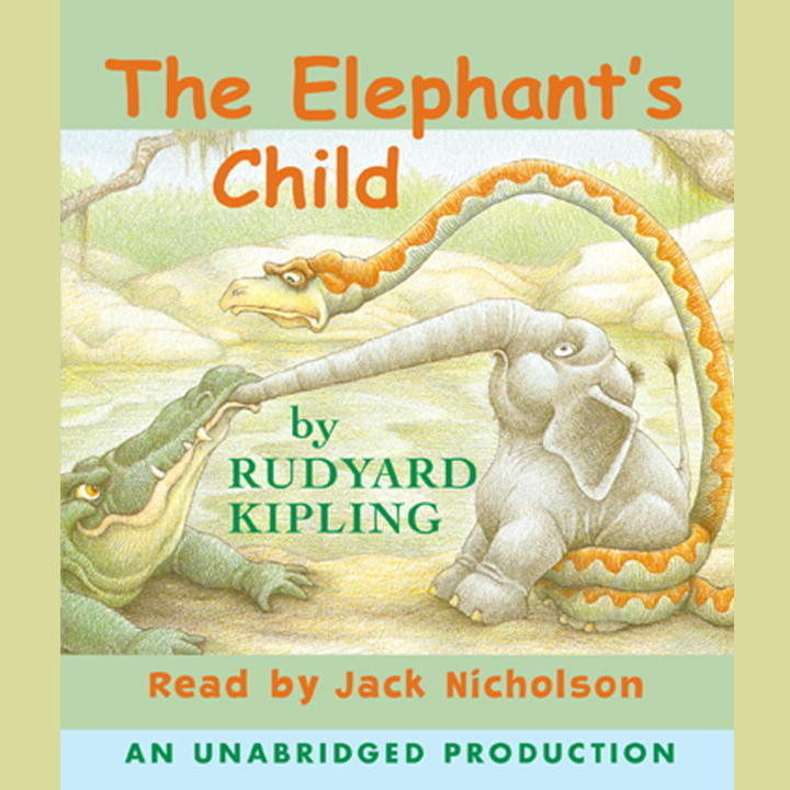 Printable The Elephant's Child Audiobook Cover Art