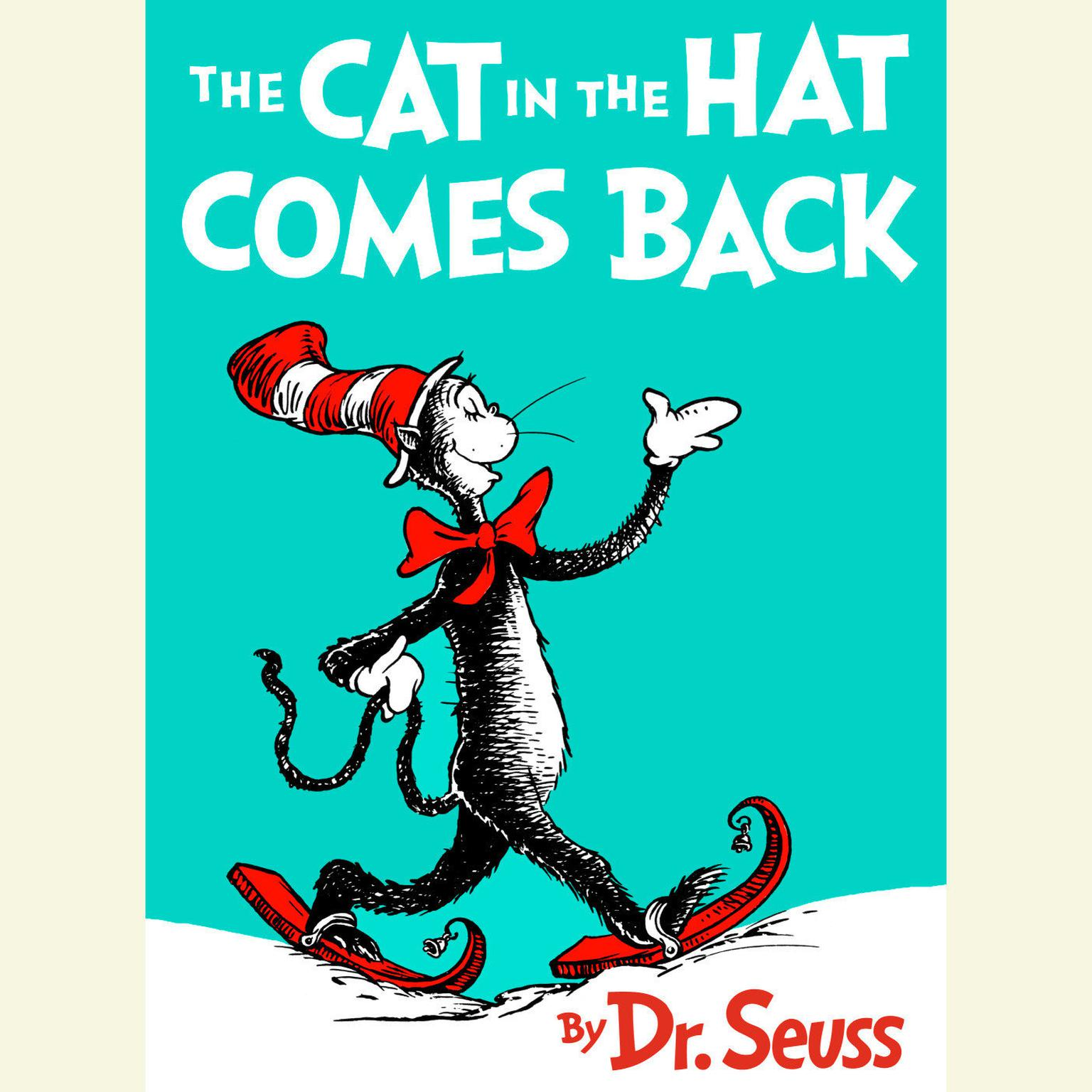 Printable The Cat in the Hat Comes Back Audiobook Cover Art