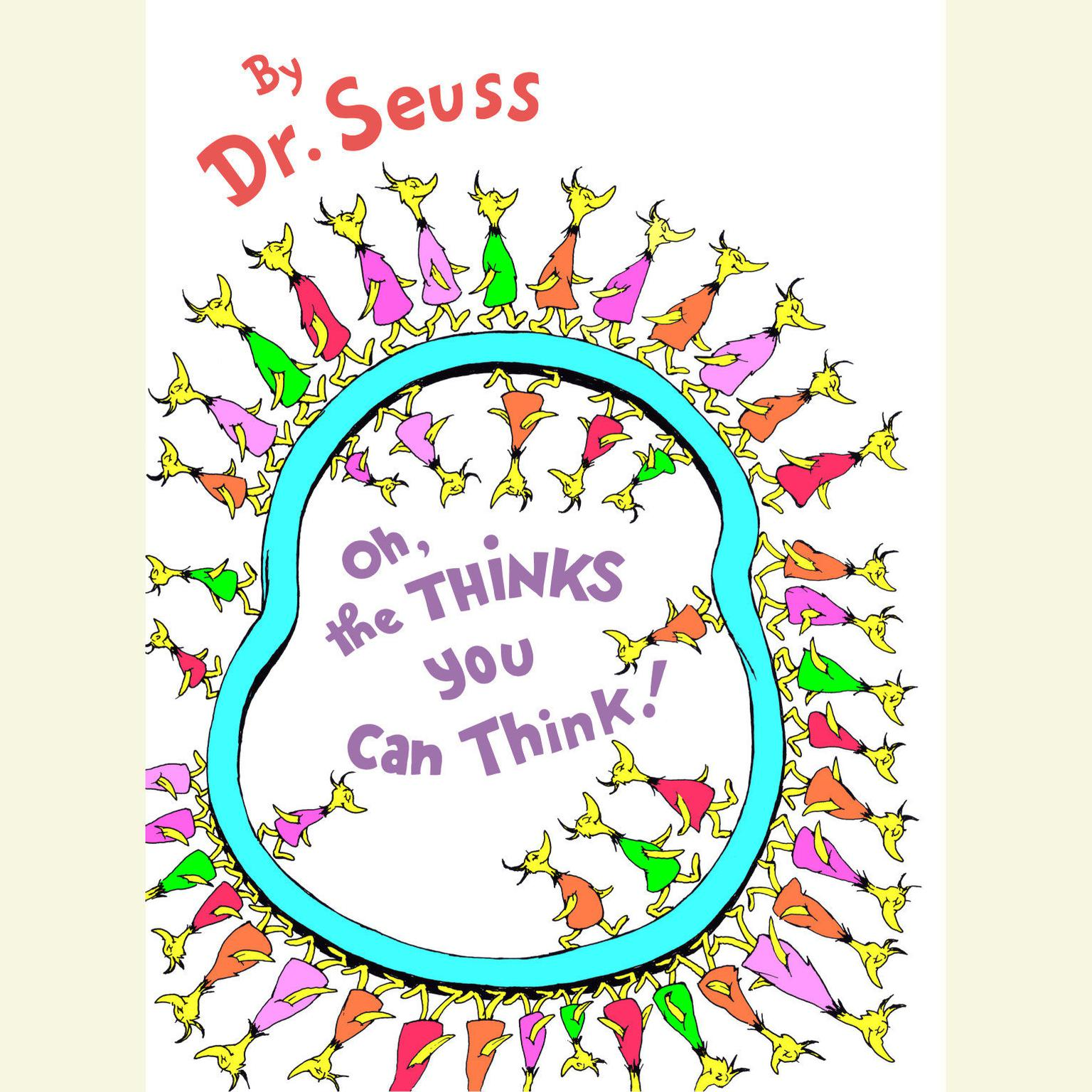 Printable Oh, the Thinks You Can Think! Audiobook Cover Art