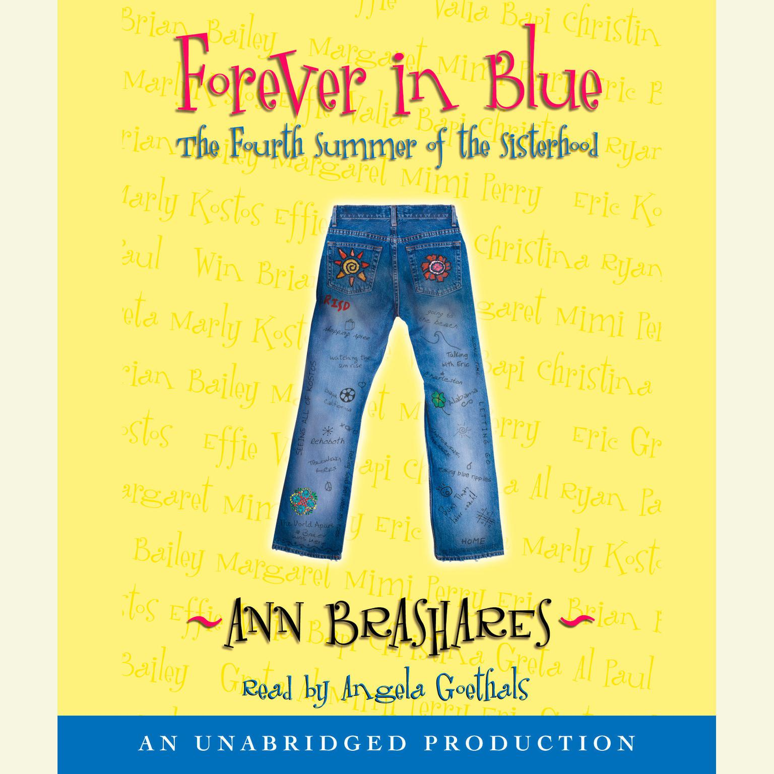 Printable Forever in Blue: The Fourth Summer of the Sisterhood: The Fourth Summer of the Sisterhood Audiobook Cover Art