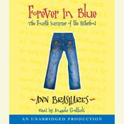 Forever in Blue: The Fourth Summer of the Sisterhood, by Ann Brashares