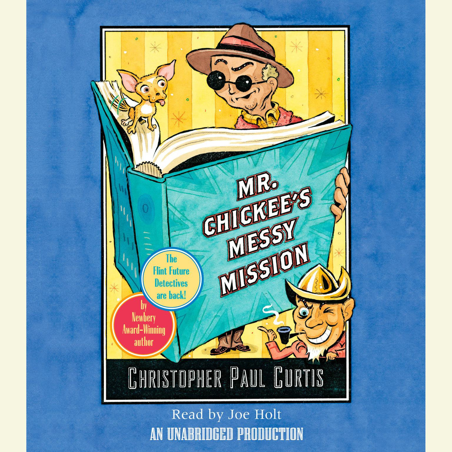 Printable Mr. Chickee's Messy Mission Audiobook Cover Art