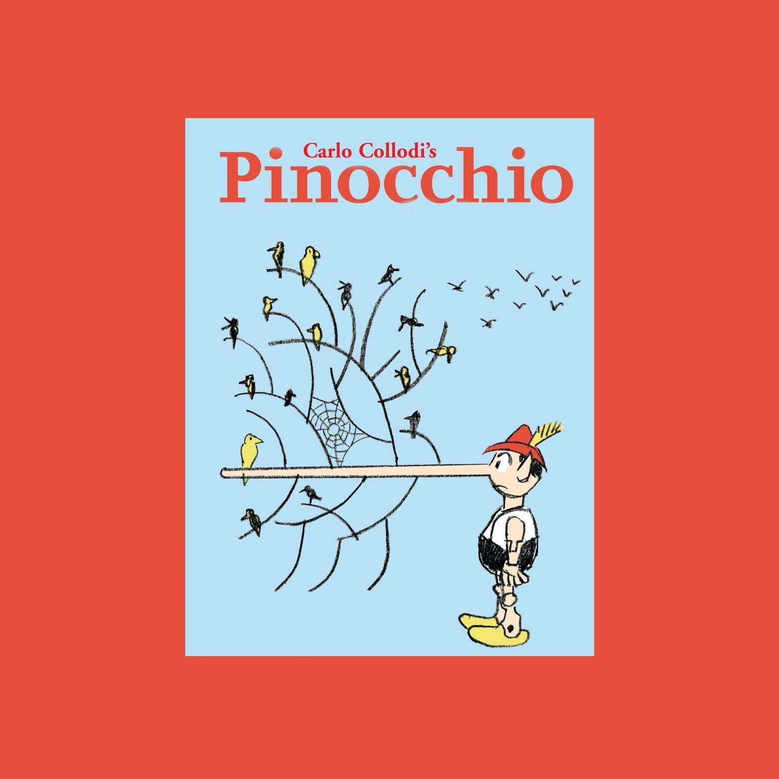 Printable The Night Kitchen Radio Theater Presents: Pinocchio Audiobook Cover Art
