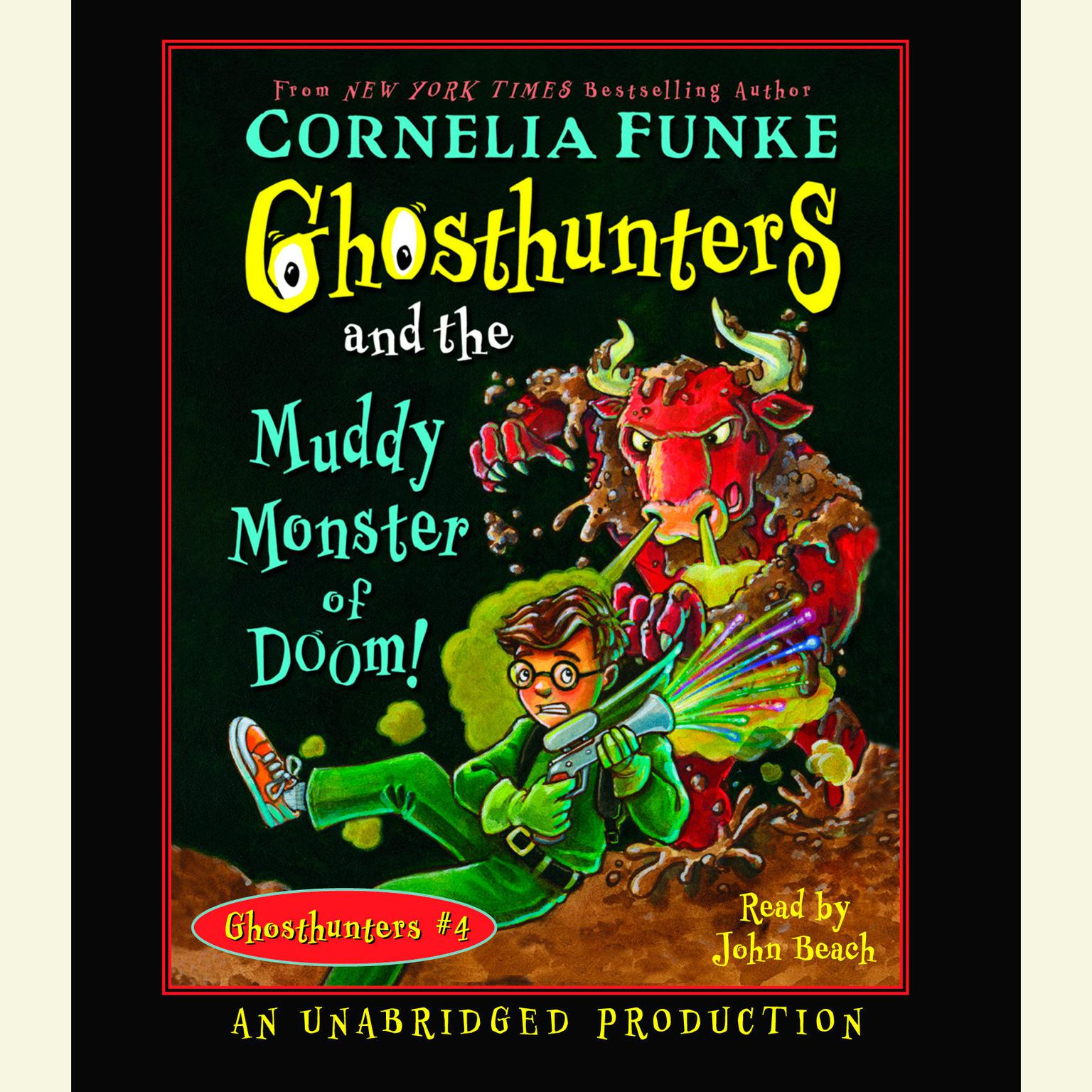 Printable Ghosthunters and the Muddy Monster of Doom Audiobook Cover Art