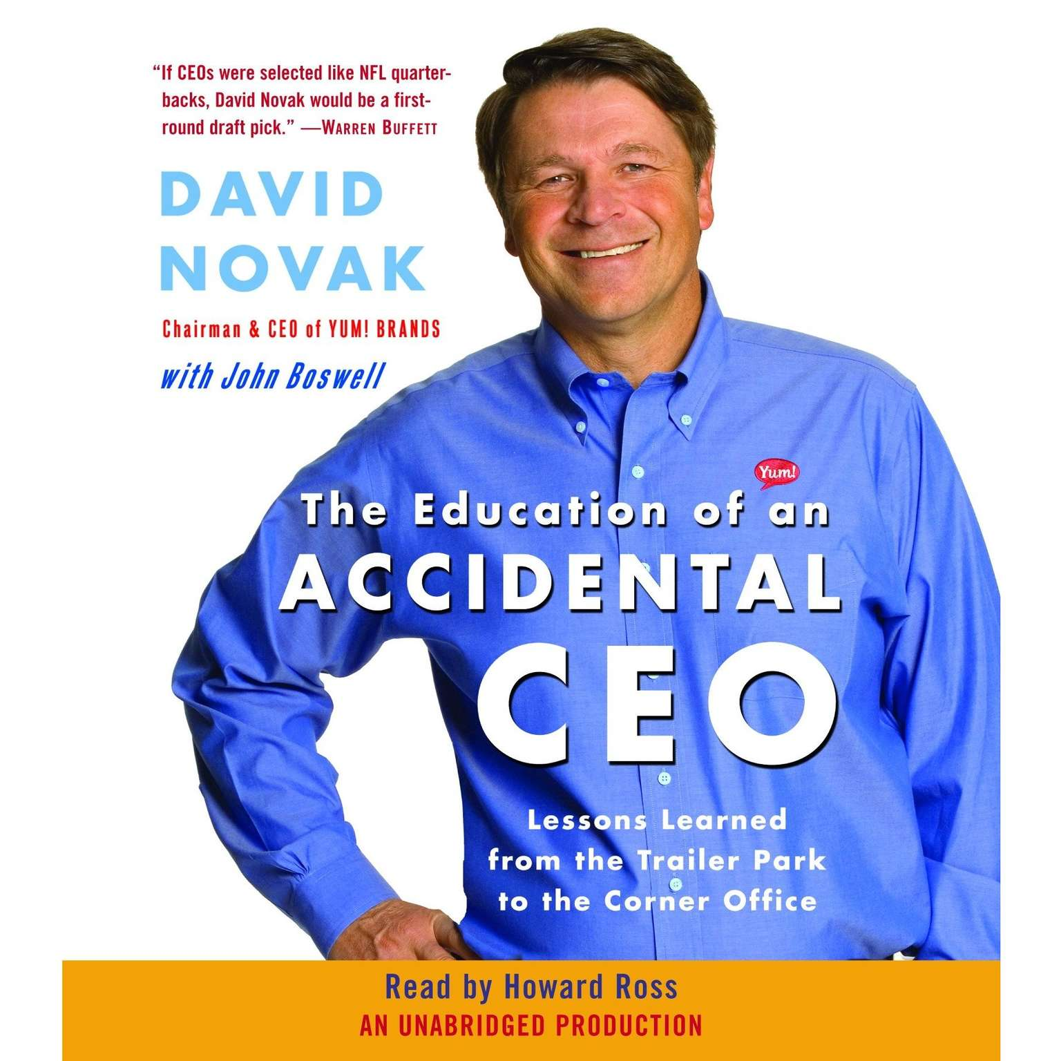 Printable The Education of an Accidental CEO: Lessons Learned from the Trailer Park to the Corner Office Audiobook Cover Art