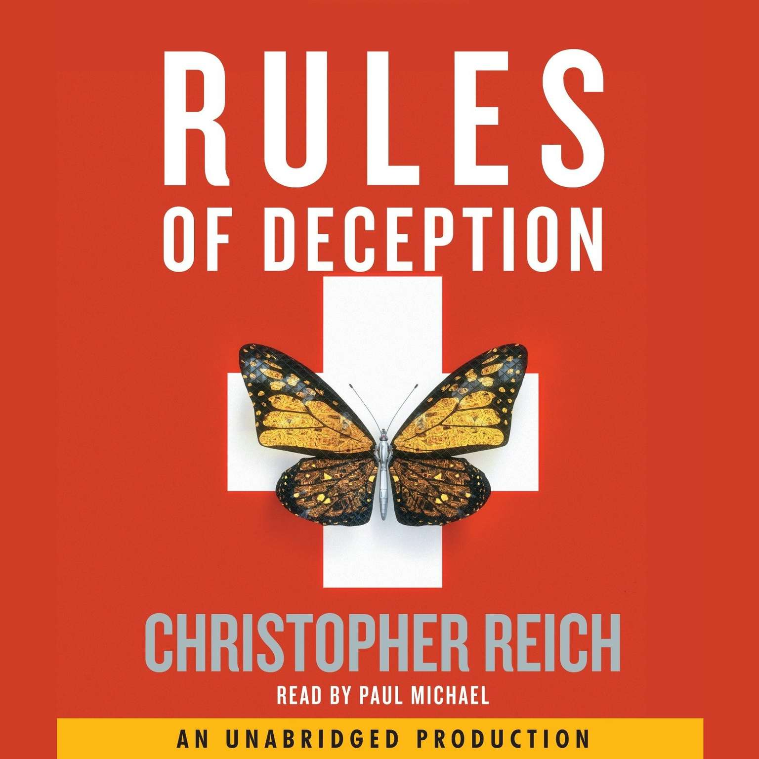Printable Rules of Deception Audiobook Cover Art