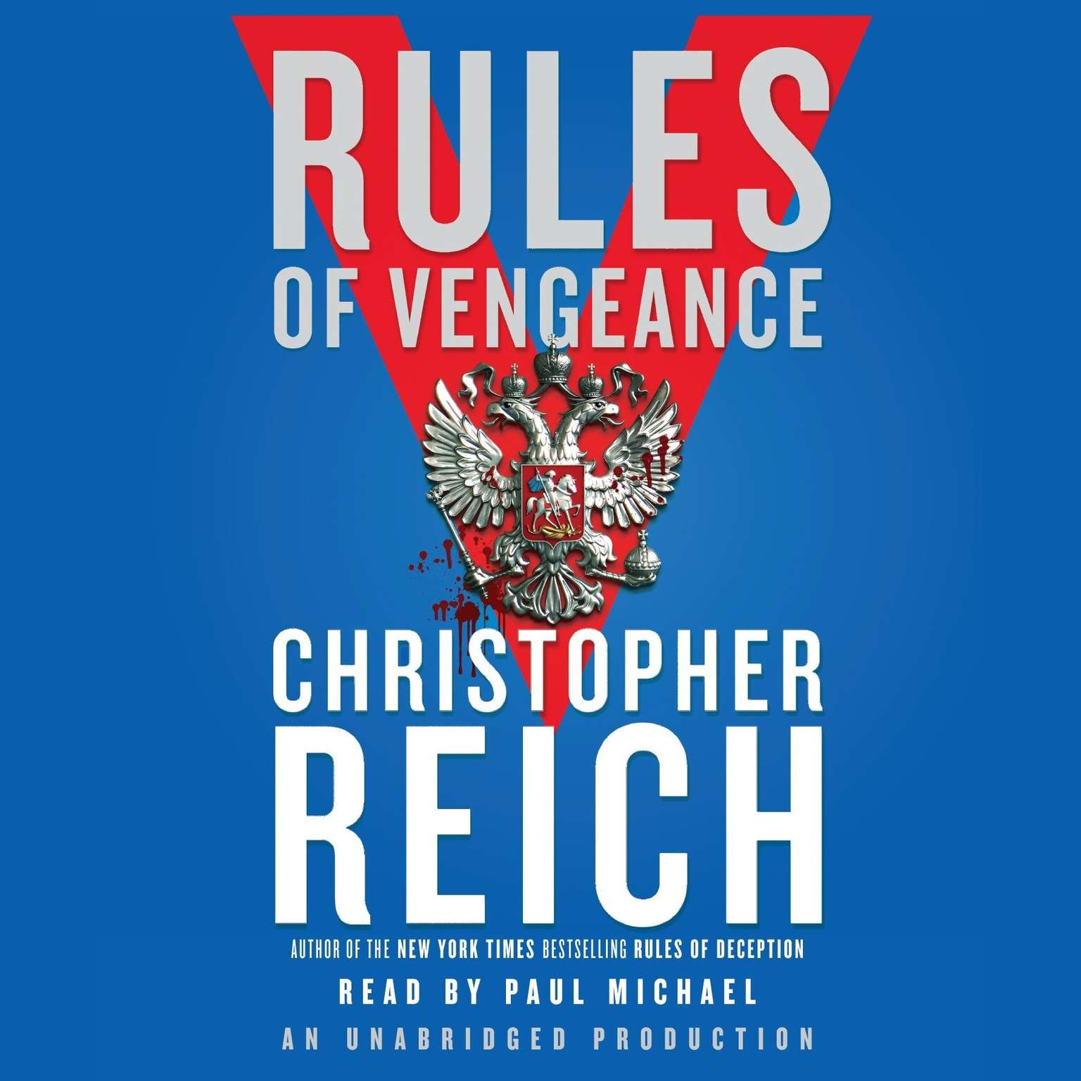 Printable Rules of Vengeance Audiobook Cover Art