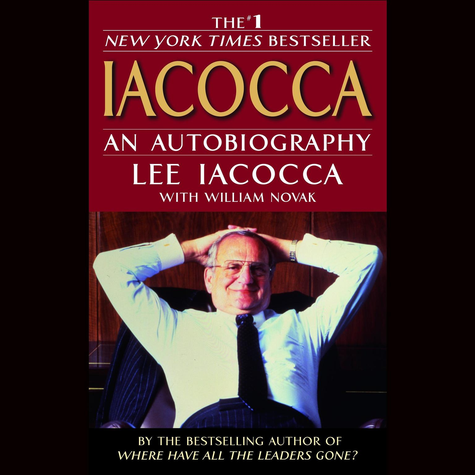 Printable Iacocca Audiobook Cover Art