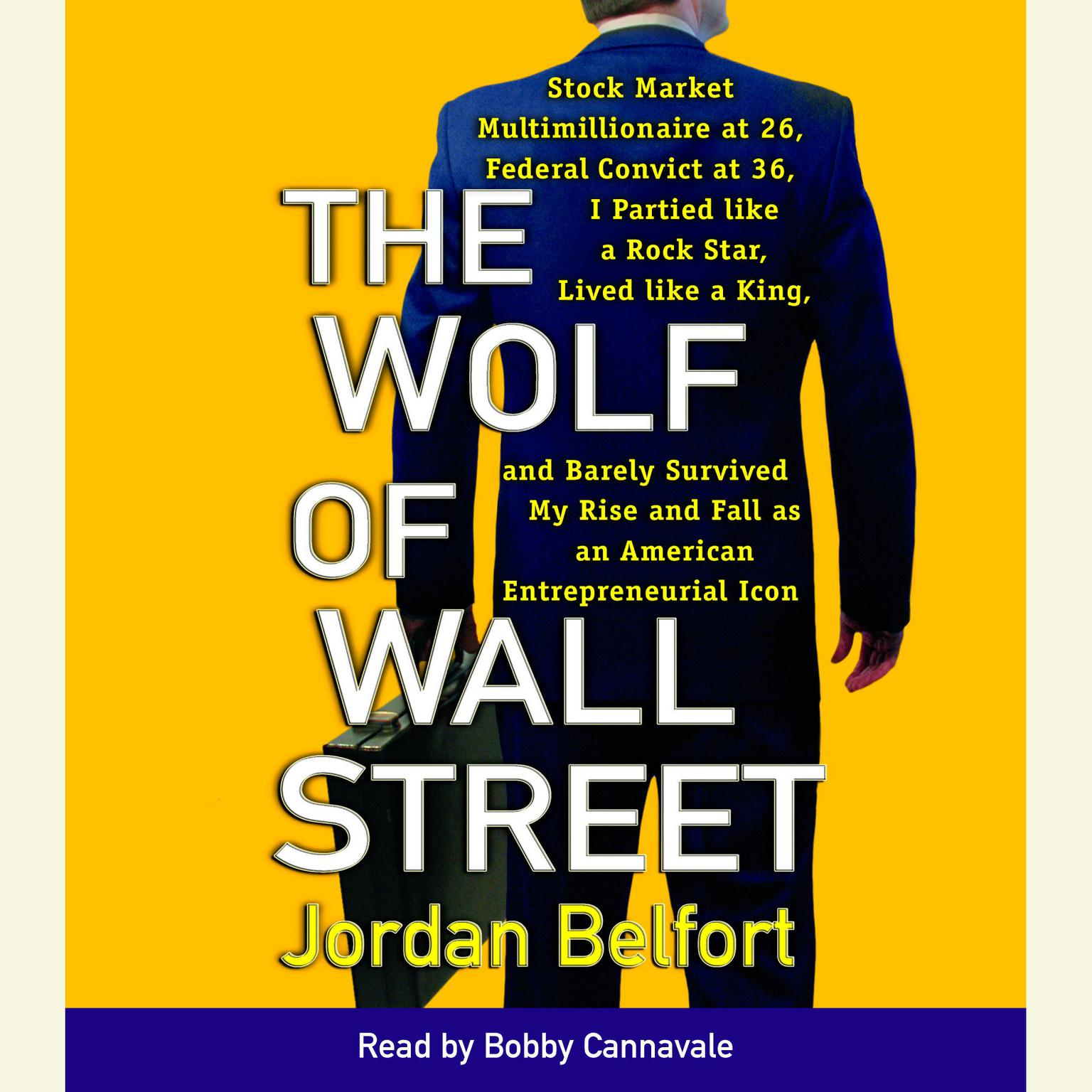 Printable The Wolf of Wall Street Audiobook Cover Art