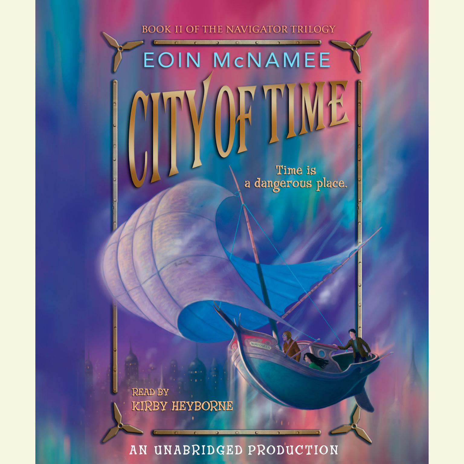 Printable City of Time Audiobook Cover Art