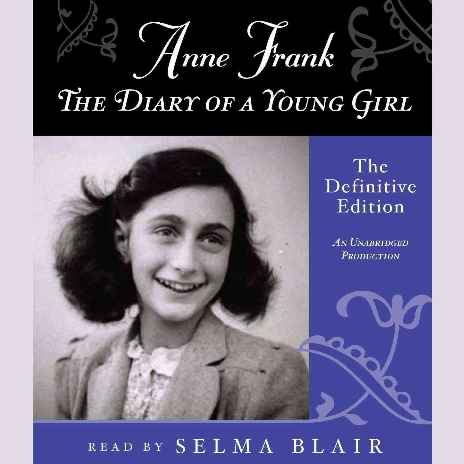 Printable Anne Frank: The Diary of a Young Girl: The Definitive Edition Audiobook Cover Art
