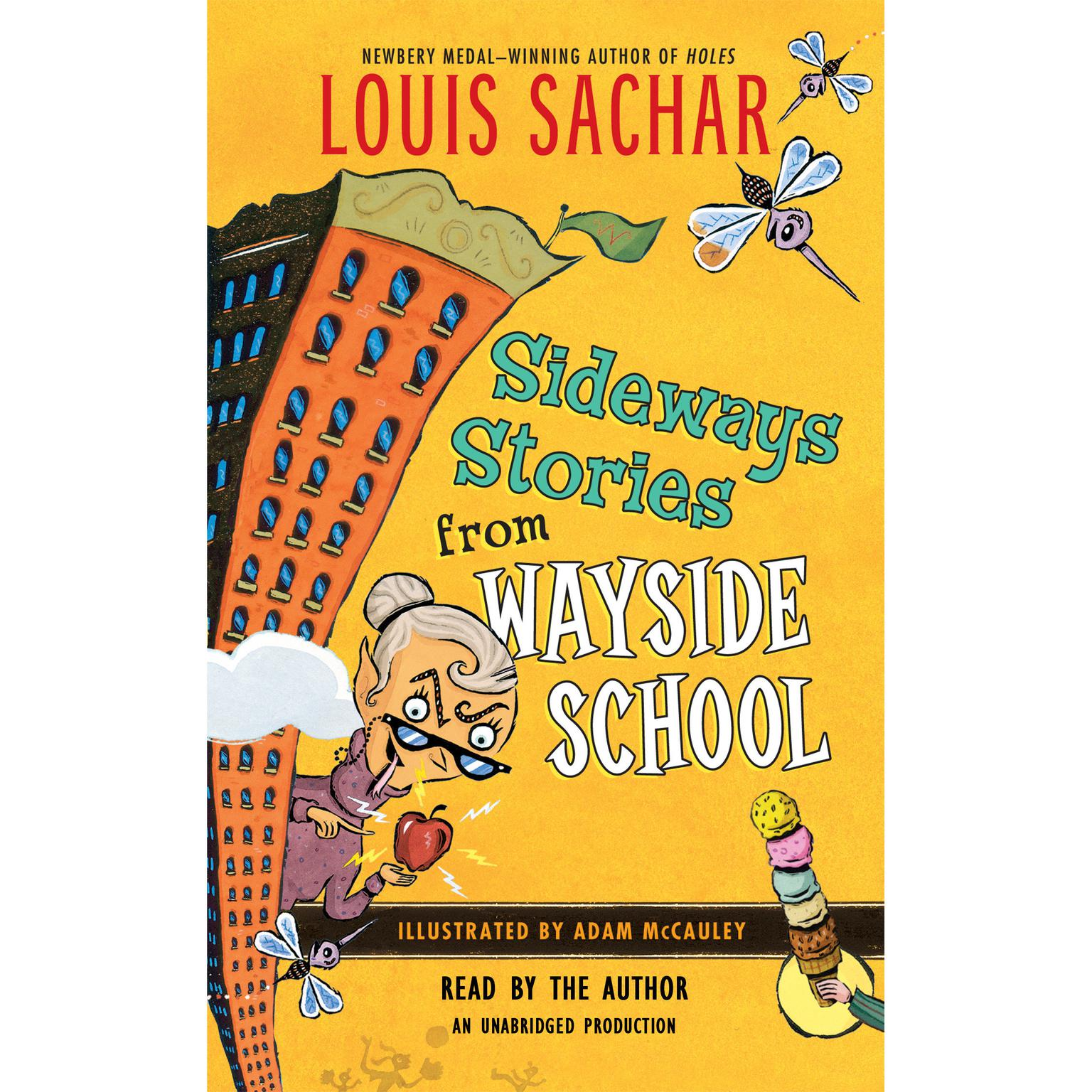 Printable Sideways Stories from Wayside School Audiobook Cover Art