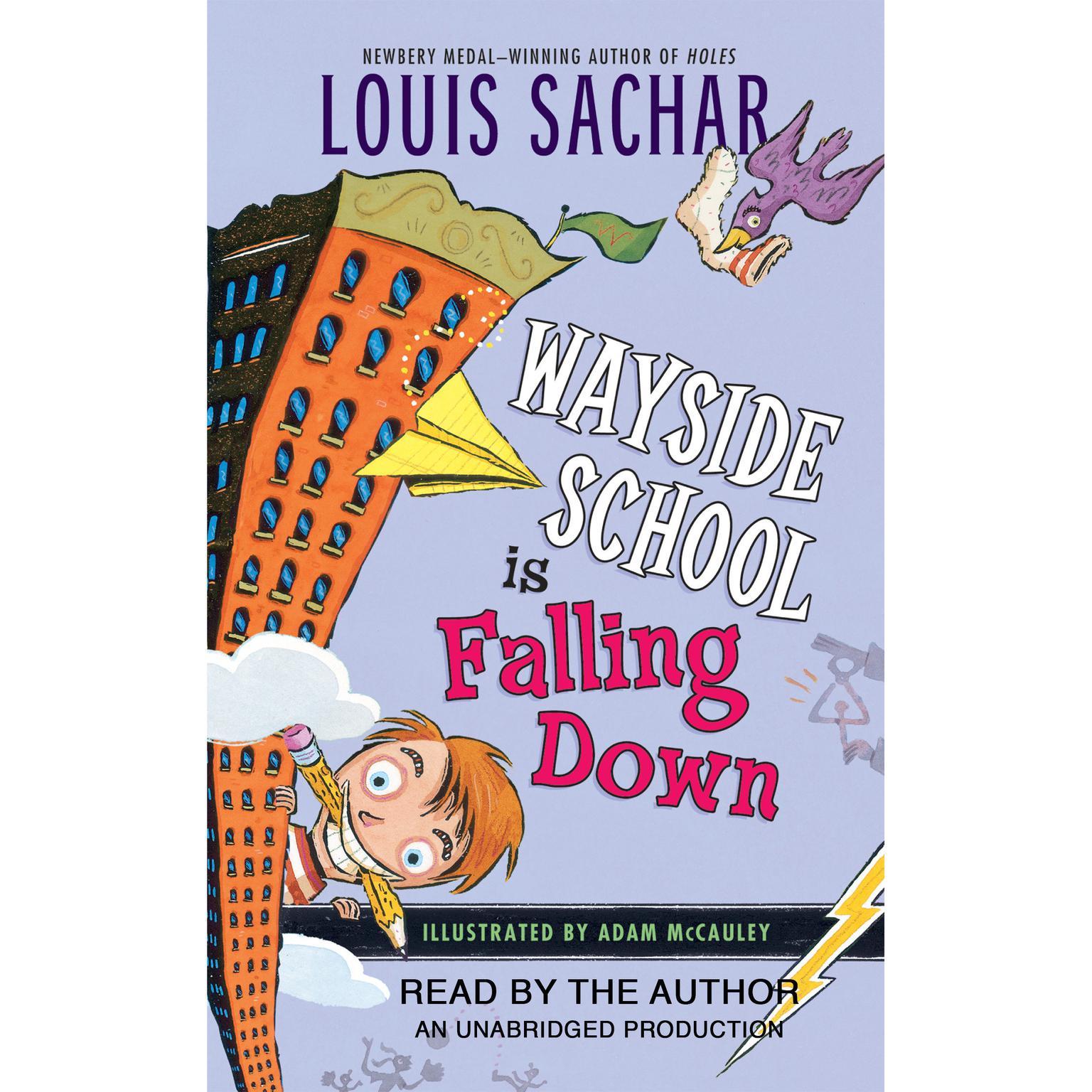 Printable Wayside School is Falling Down Audiobook Cover Art