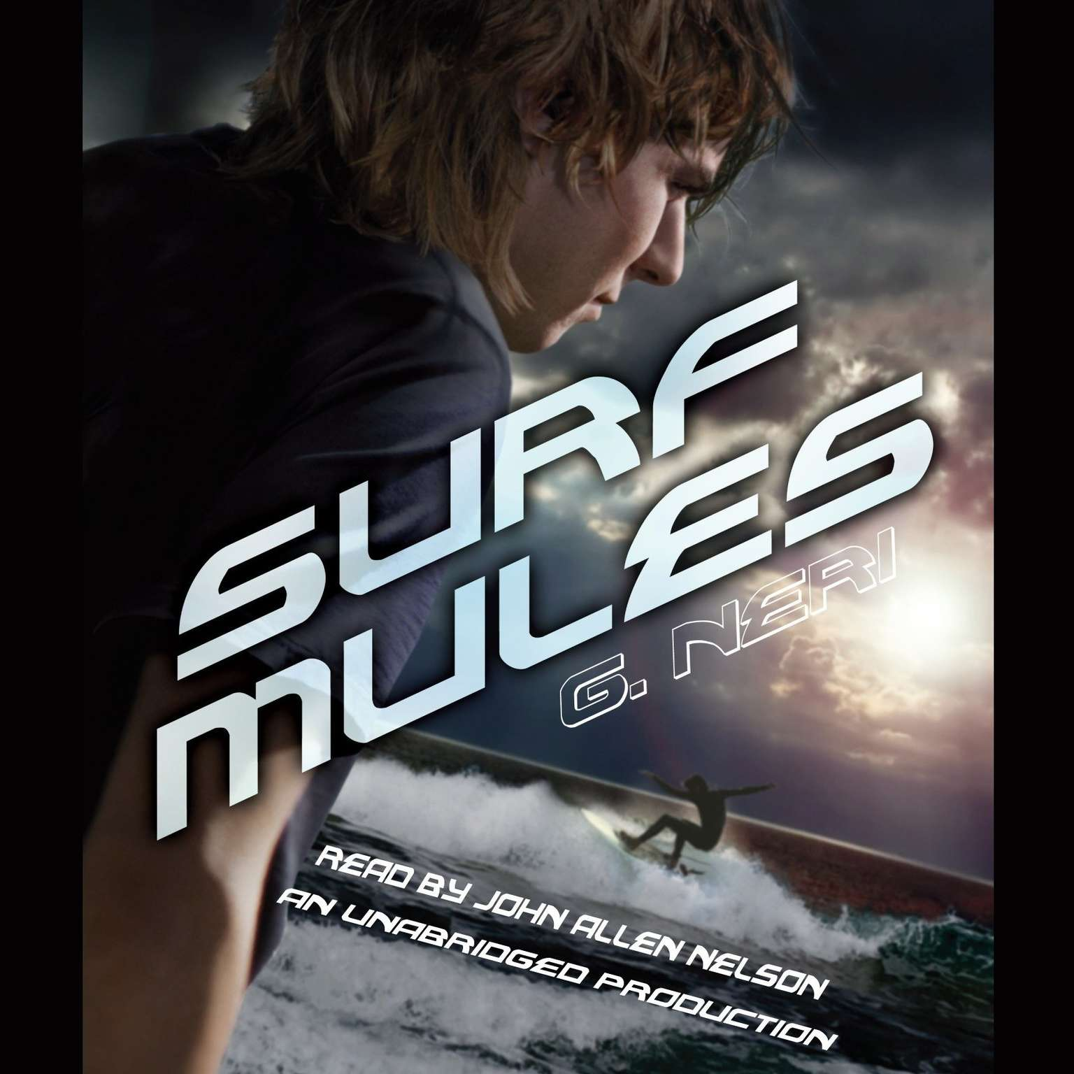 Printable Surf Mules Audiobook Cover Art