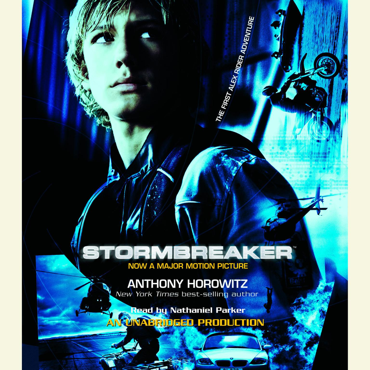 Printable Stormbreaker Audiobook Cover Art