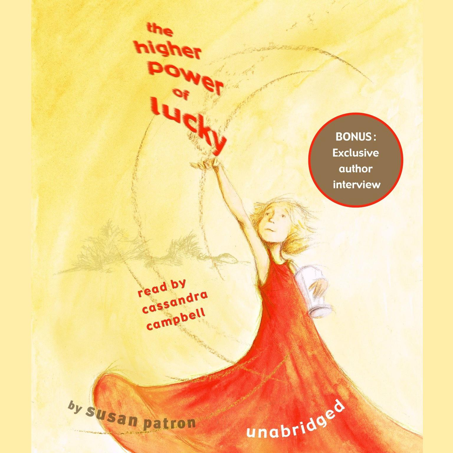 Printable The Higher Power of Lucky Audiobook Cover Art
