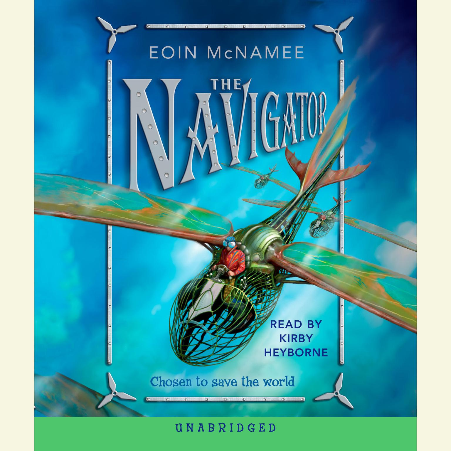 Printable The Navigator Audiobook Cover Art