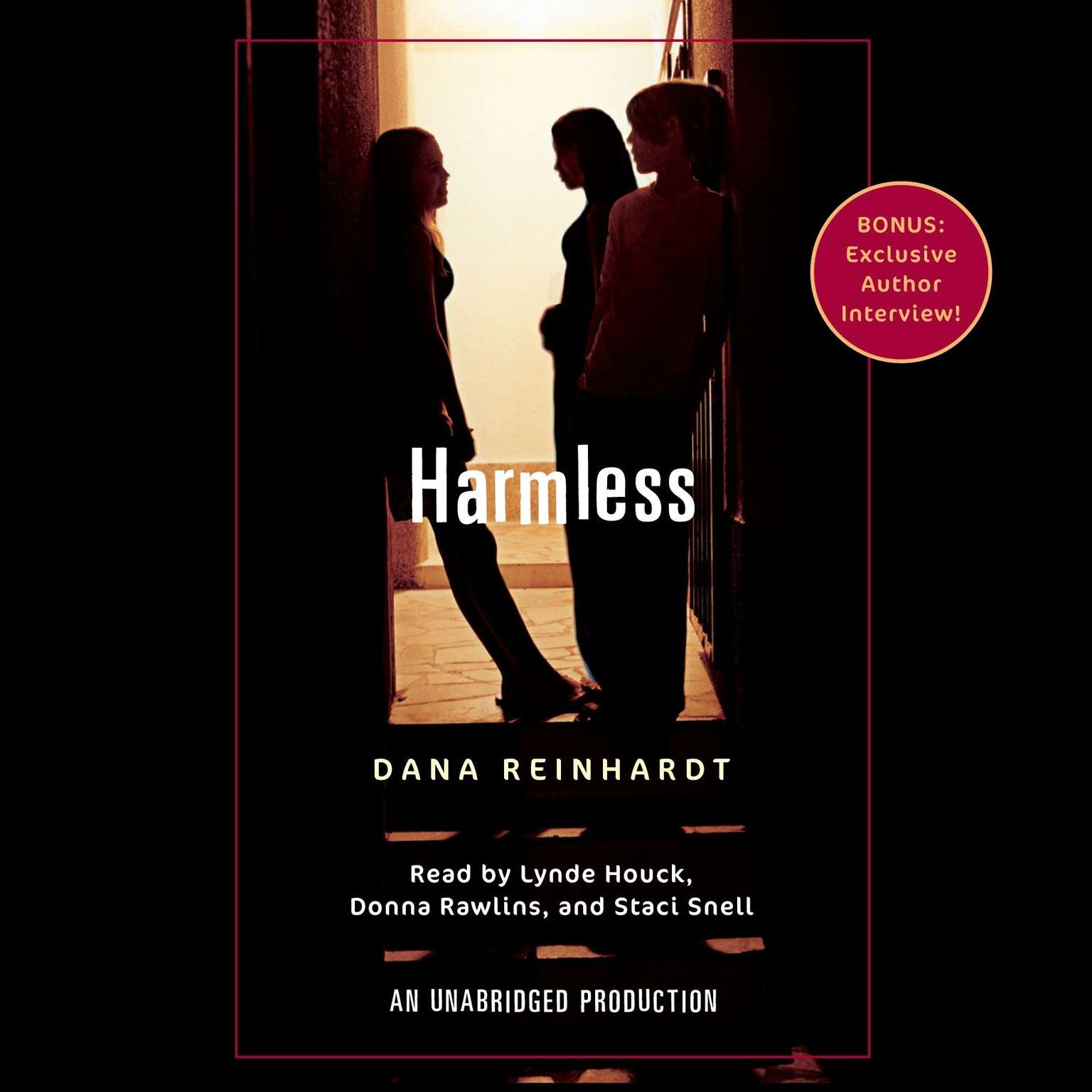 Printable Harmless Audiobook Cover Art