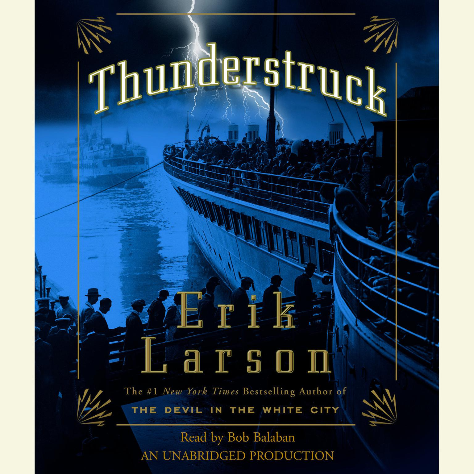 Printable Thunderstruck Audiobook Cover Art