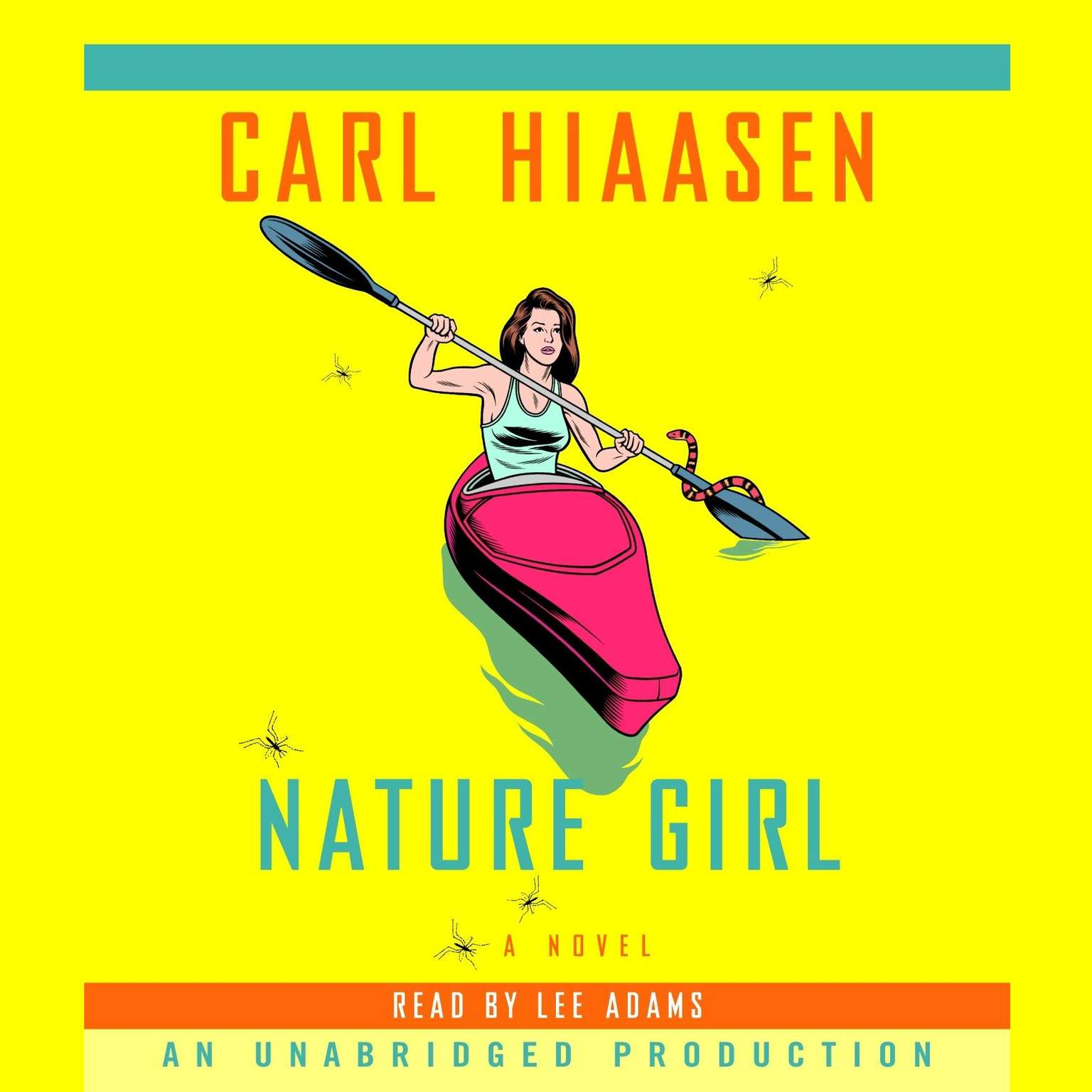 Printable Nature Girl Audiobook Cover Art