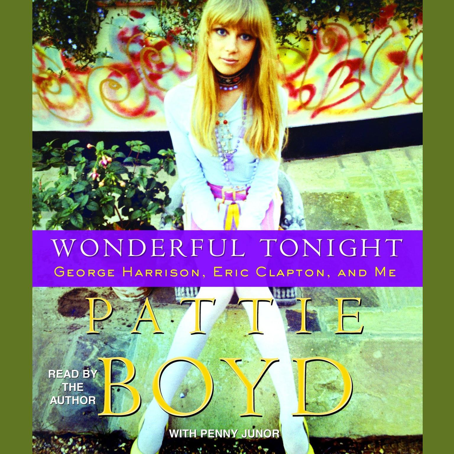 Printable Wonderful Tonight: George Harrison, Eric Clapton, and Me Audiobook Cover Art