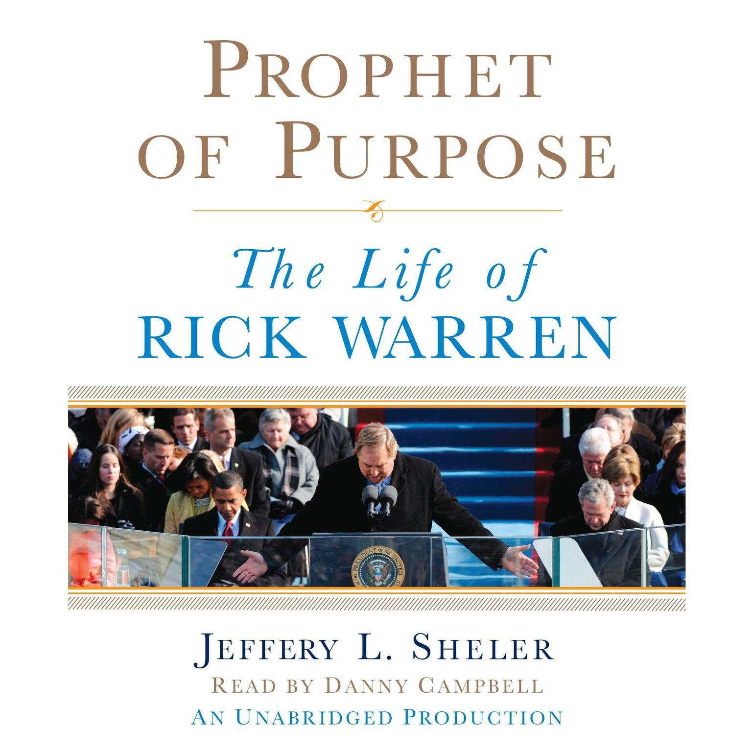 Printable Prophet of Purpose: The Life of Rick Warren Audiobook Cover Art