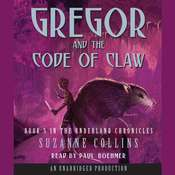 Gregor and the Code of Claw, by Suzanne Collin