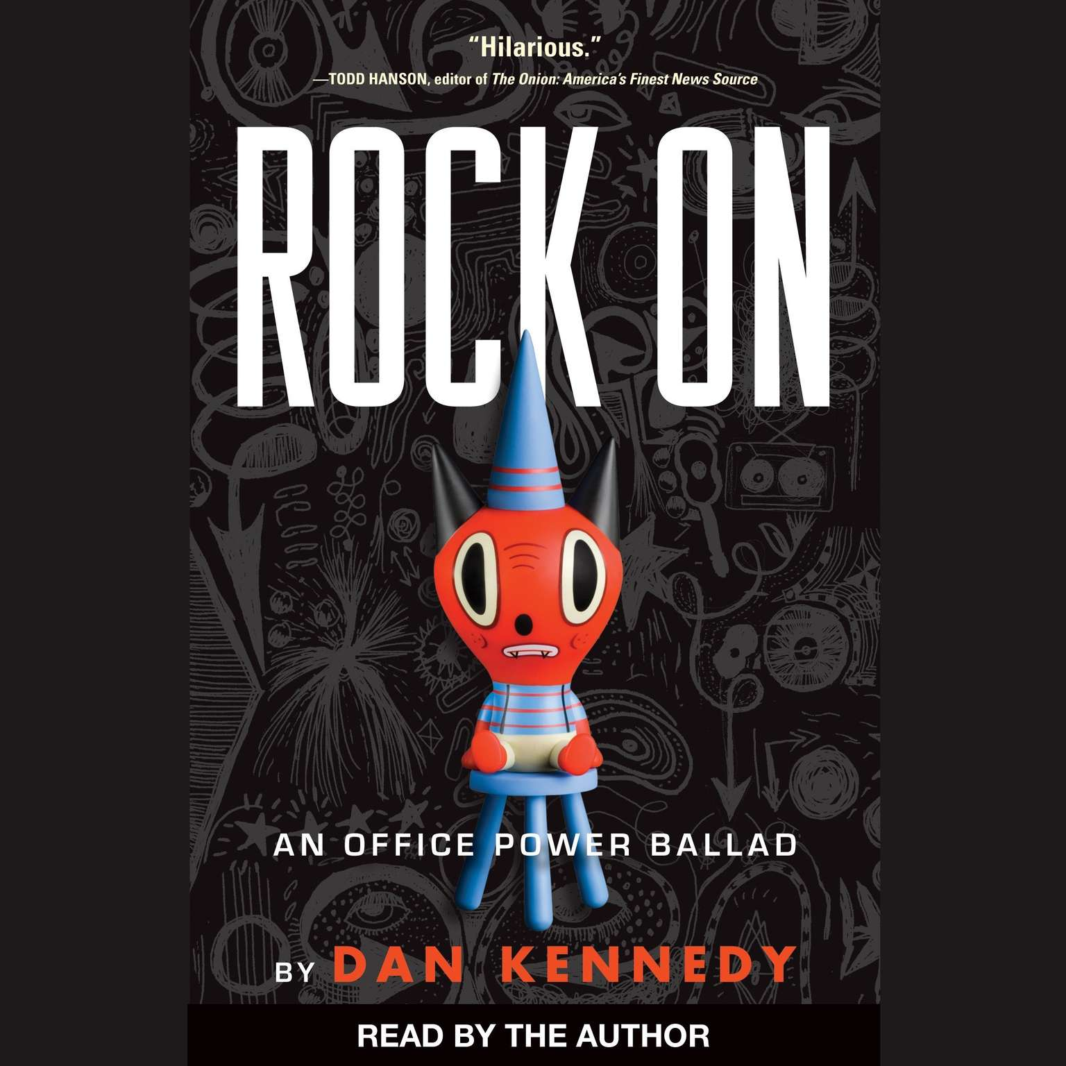 Printable Rock On: An Office Power Ballad Audiobook Cover Art