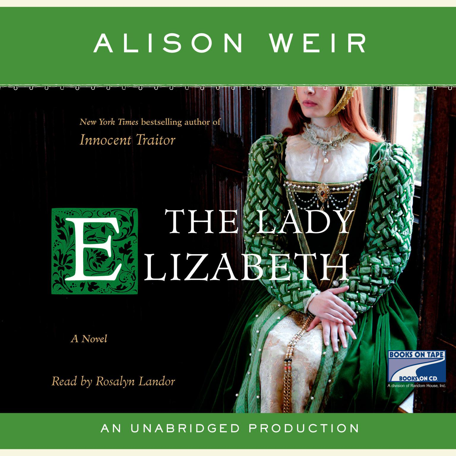 Printable The Lady Elizabeth: A Novel Audiobook Cover Art
