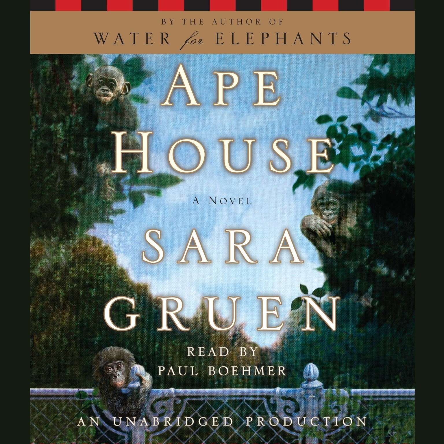 Printable Ape House: A Novel Audiobook Cover Art