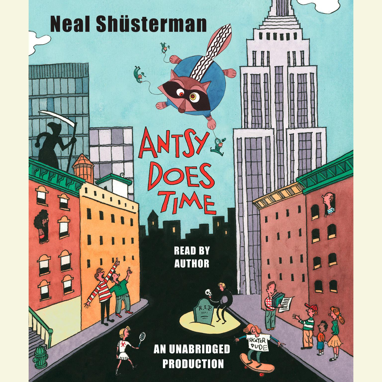 Printable Antsy Does Time Audiobook Cover Art