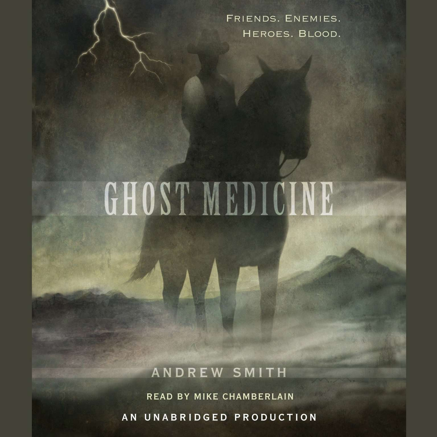 Printable Ghost Medicine Audiobook Cover Art