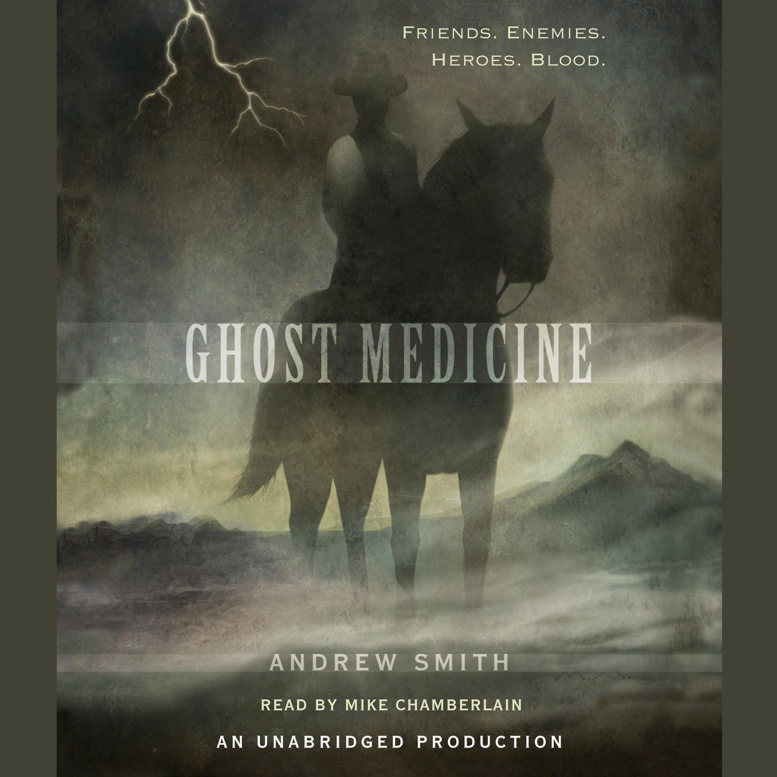Printable Ghost Medicine Audiobook Cover Art