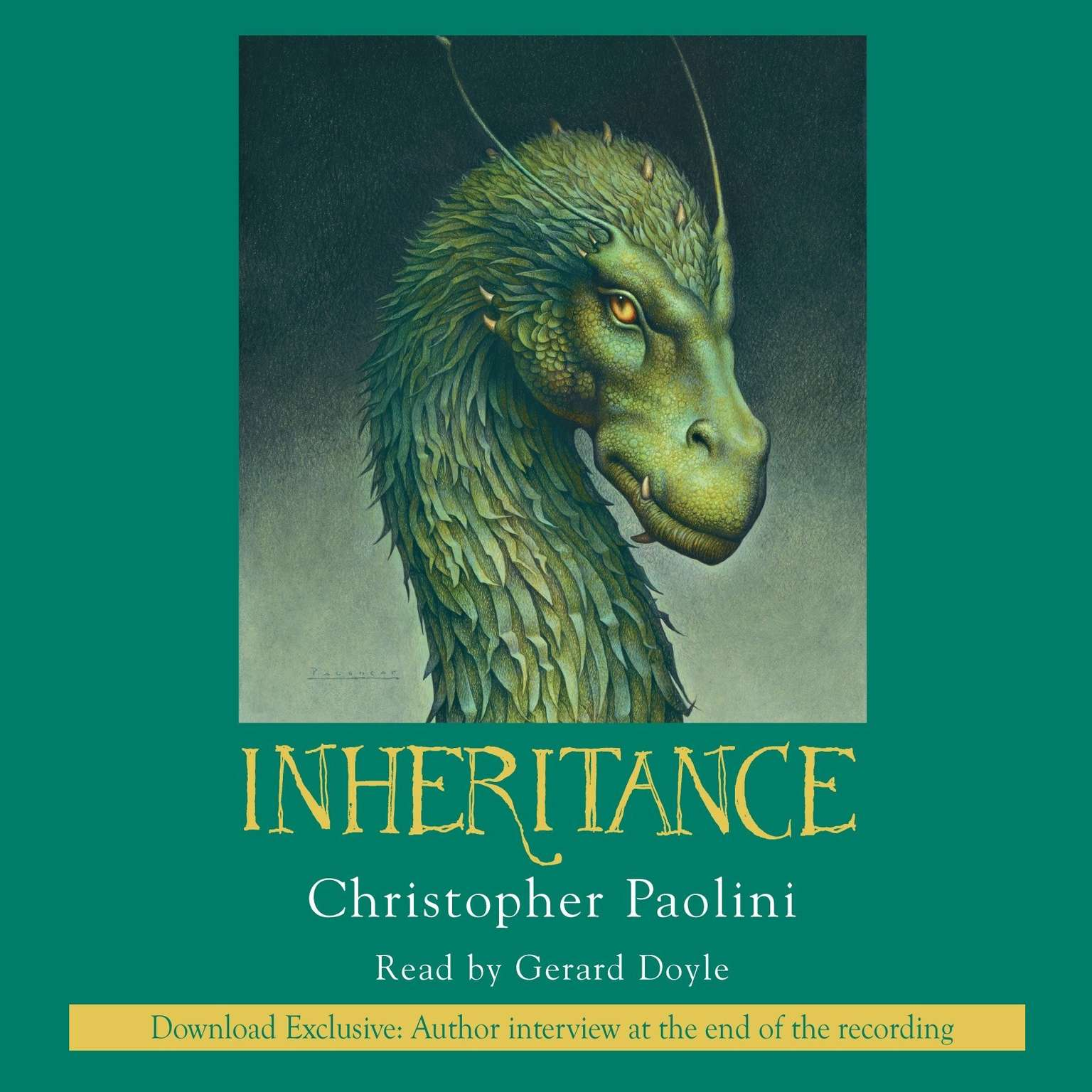 Printable Inheritance Audiobook Cover Art