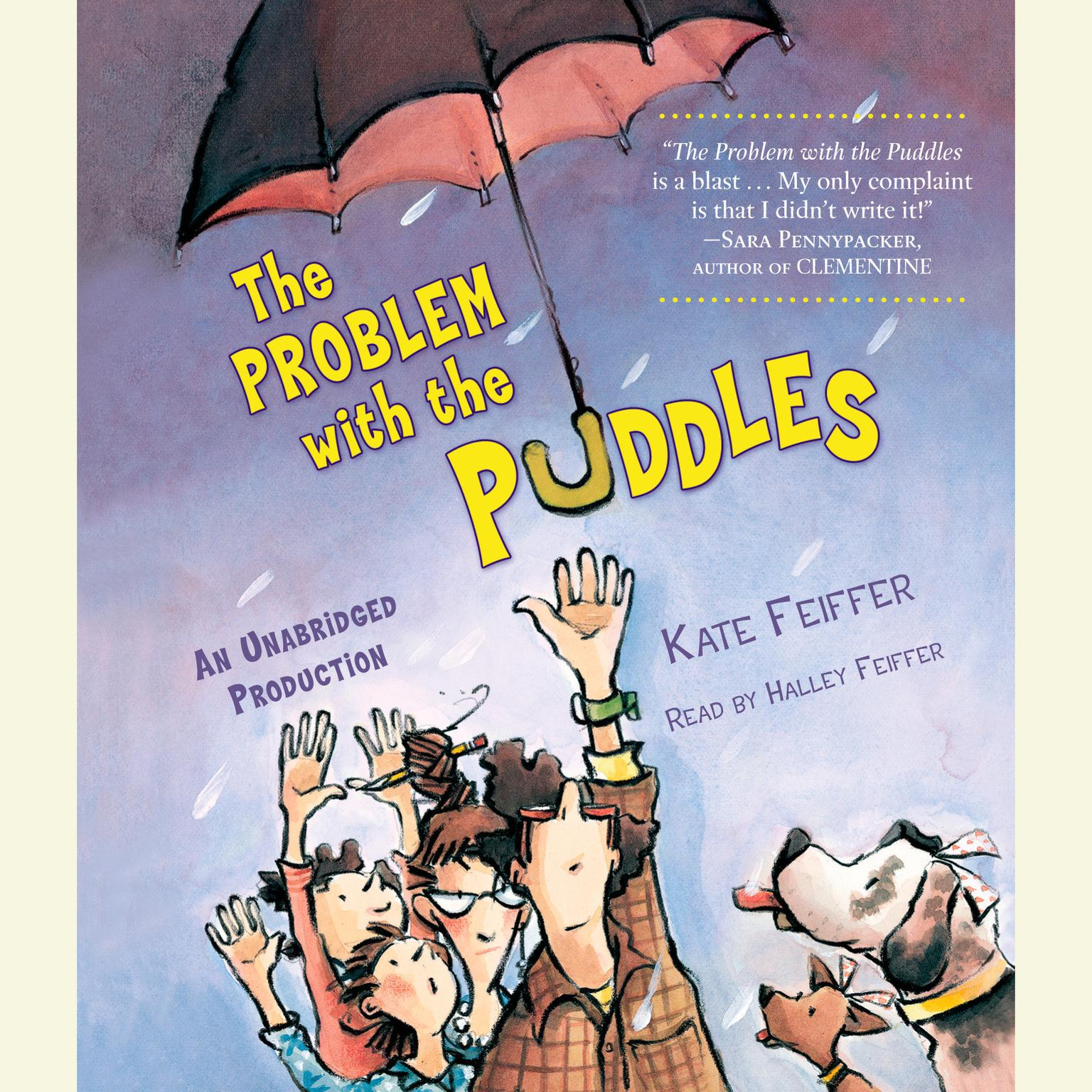 Printable The Problem with the Puddles Audiobook Cover Art