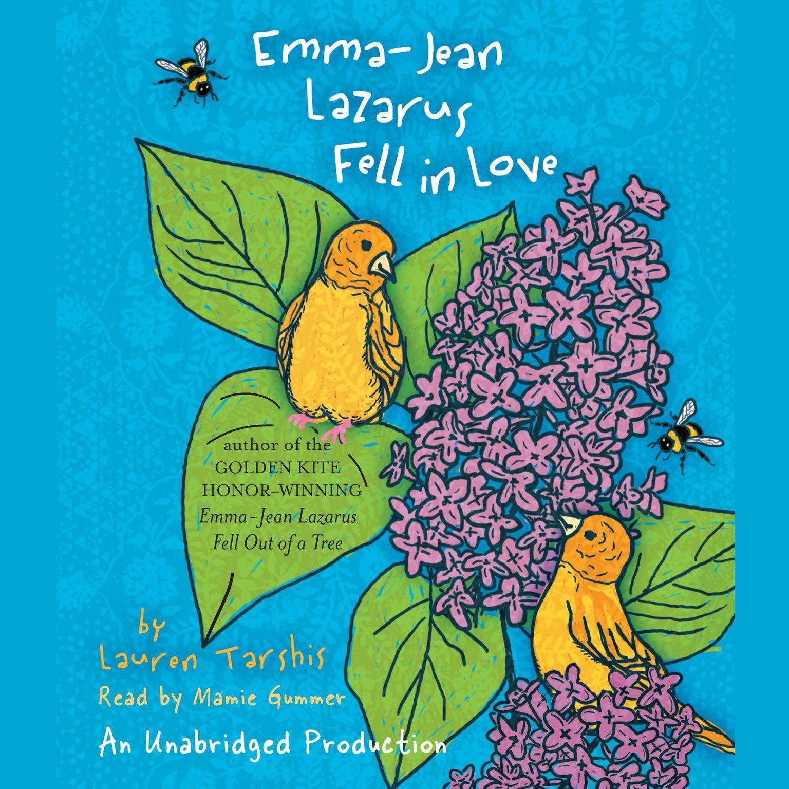 Printable Emma-Jean Lazarus Fell in Love Audiobook Cover Art