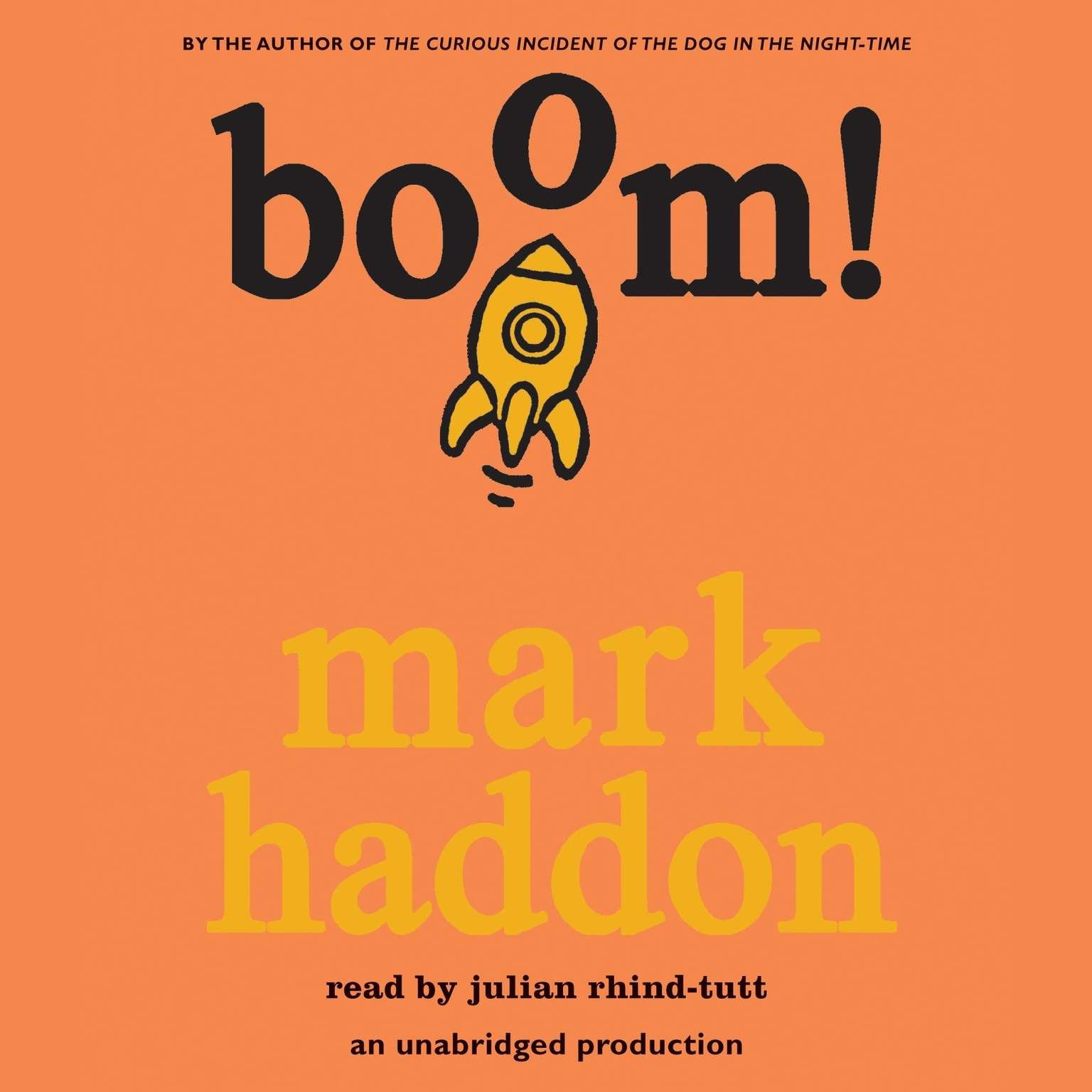 Printable Boom! Audiobook Cover Art