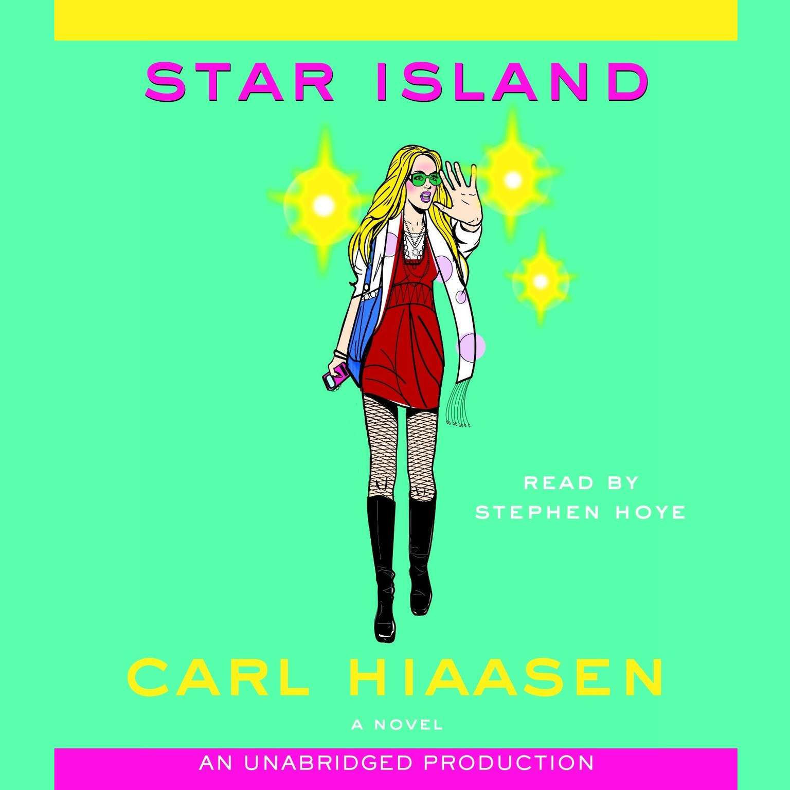 Printable Star Island Audiobook Cover Art