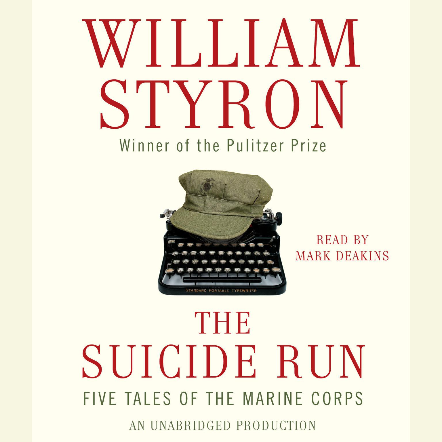 Printable The Suicide Run: Five Tales of the Marine Corps Audiobook Cover Art
