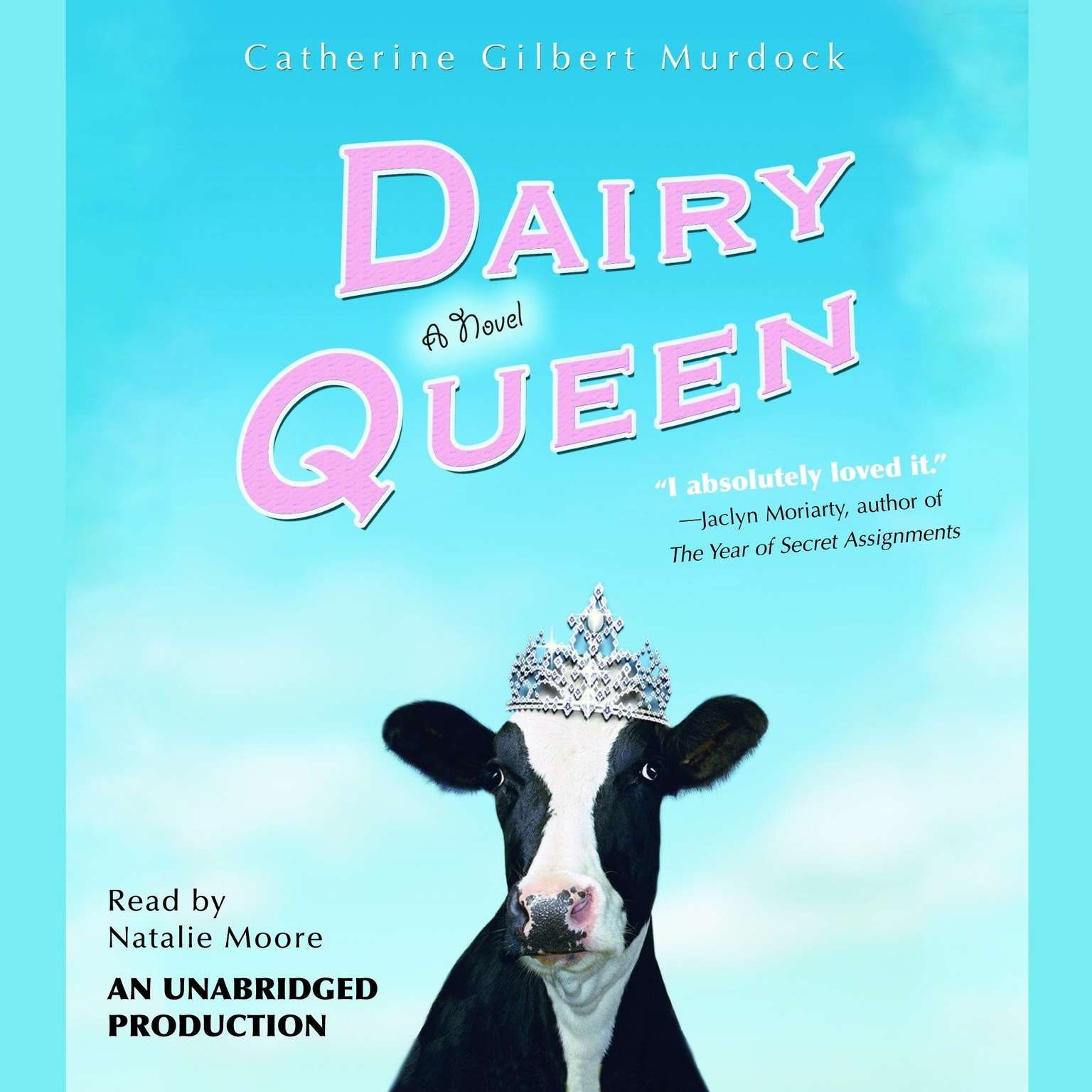 Printable Dairy Queen Audiobook Cover Art