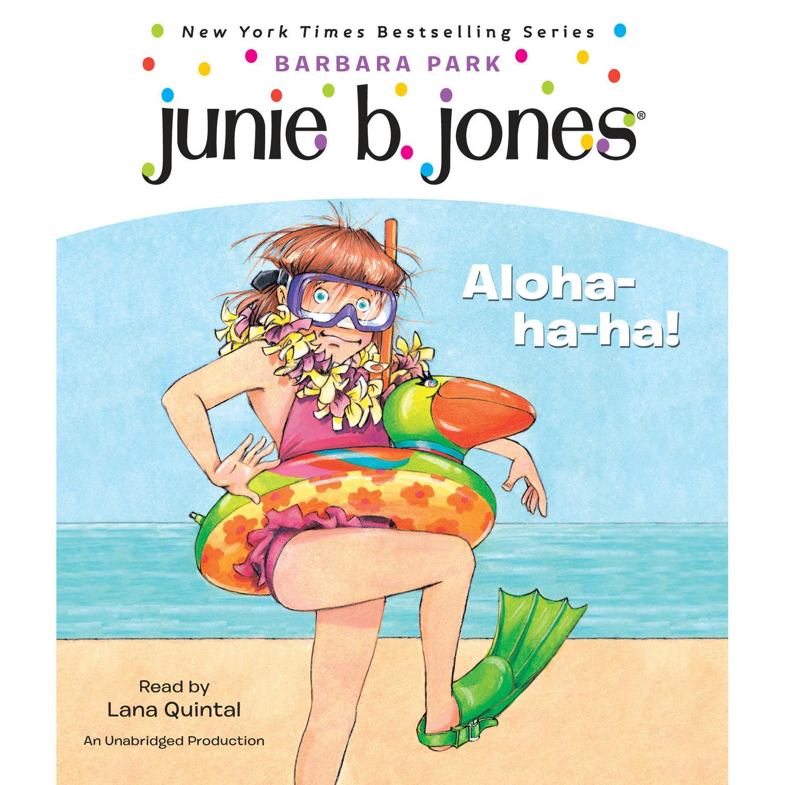Printable Junie B. Jones #26: Aloha-ha-ha!: Junie B. Jones #26 Audiobook Cover Art