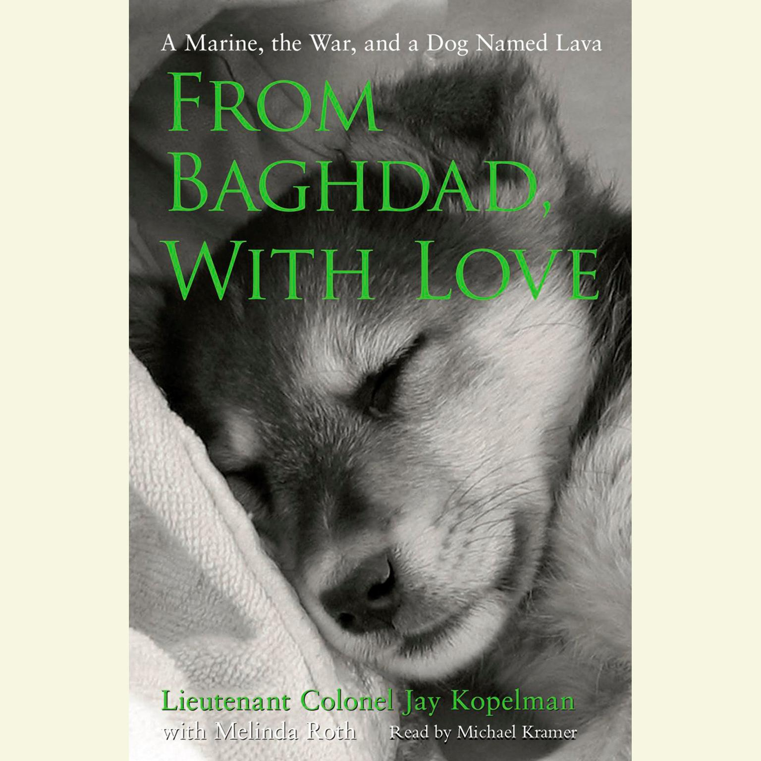 Printable From Baghdad, With Love: A Marine, the War, and a Dog Named Lava Audiobook Cover Art
