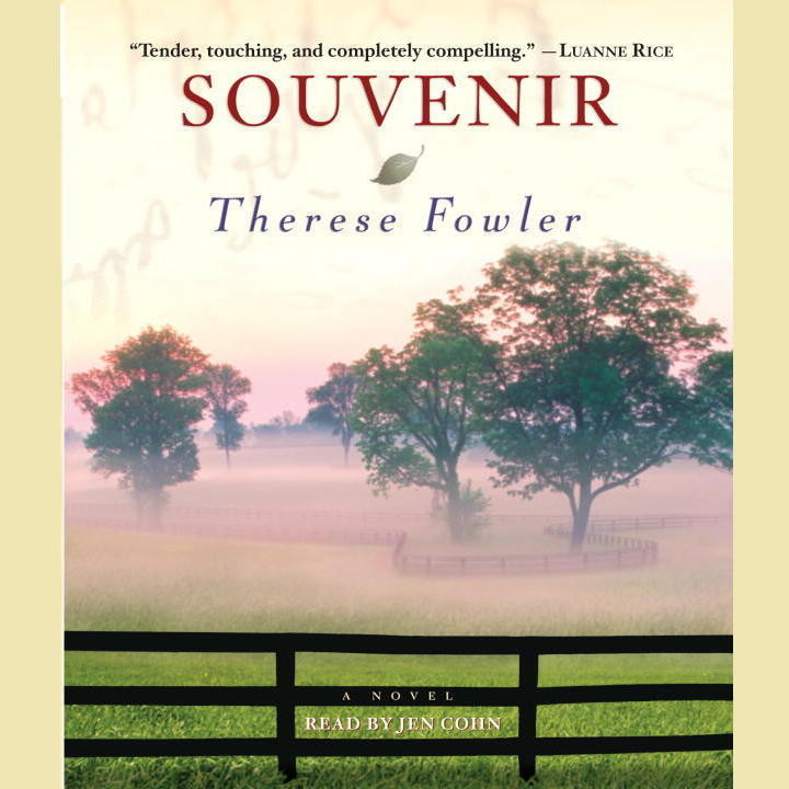 Printable Souvenir: A Novel Audiobook Cover Art