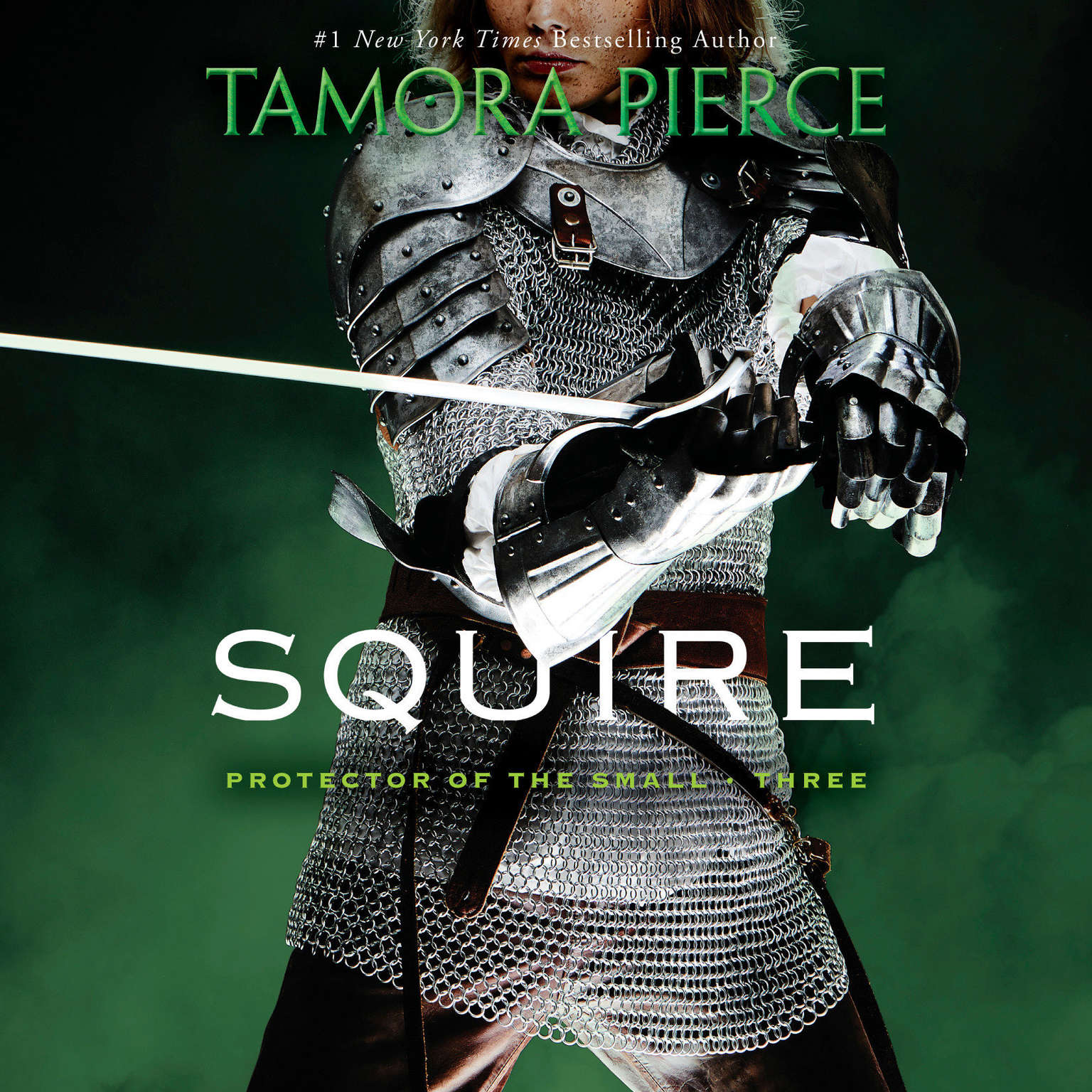 Printable Squire: Book 3 of the Protector of the Small Quartet Audiobook Cover Art