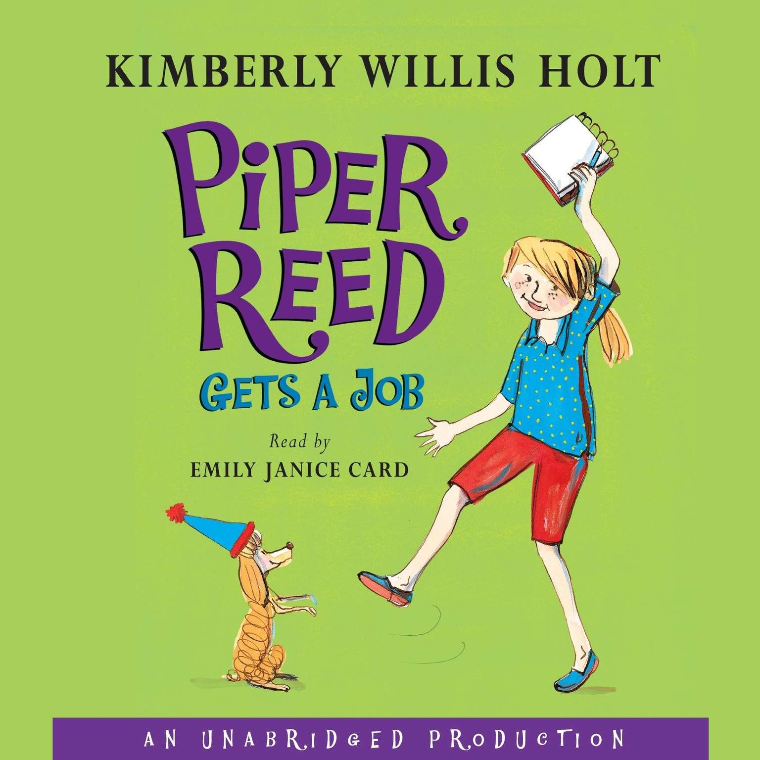 Printable Piper Reed Gets a Job Audiobook Cover Art