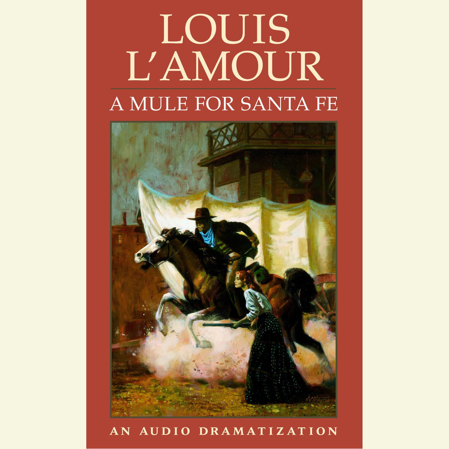 Printable A Mule for Santa Fe Audiobook Cover Art